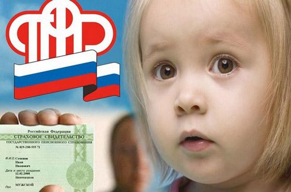 Получить СНИЛС на ребенка можно в Территориальном Управлении Пенсионного Фонда