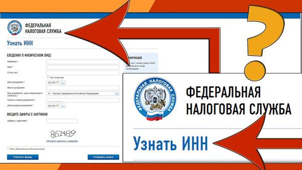 Определение ИНН в России через интернет