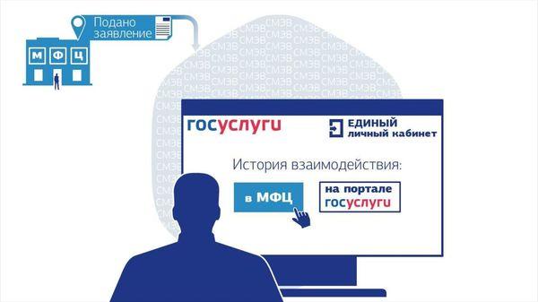 Пользователи записываются в МФЦ на портале «Госуслуги»